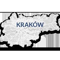 Kraków - monitoring GPS