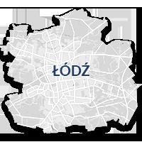 Łódź - monitoring GPS