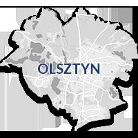 Olsztyn - monitoring GPS