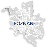 Poznań - monitoring GPS