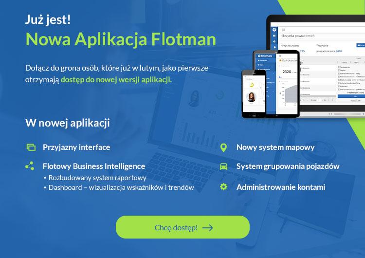 Aplikacja Flotman 2.0 screen